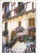 Eguisheim Vieille Rue Des Remparts Maisons Fleuries - France