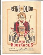PROTEGE CAHIER MOUTARDE REINE DE DIJON - Book Covers