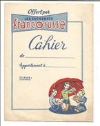 PROTEGE CAHIER ENTREMETS FRANCORUSSE - Book Covers
