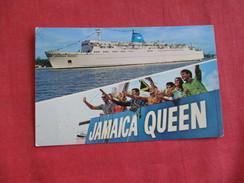 Jamaica Queen  Miami---     ---ref 2795 - Paquebots
