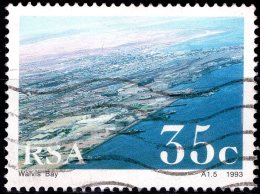 SOUTH AFRICA 1993 South African Harbours - 35c Walvis Bay Harbour FU - Used Stamps