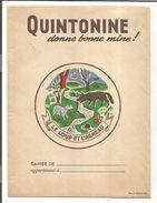 PROTEGE CAHIER QUINTONINE LE LOUP ET L'AGNEAU - Book Covers