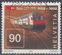 SUIZA 2002 Nº 1704 USADO - Suiza