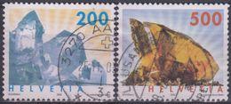 SUIZA 2002 Nº 1732/33 USADO - Suiza