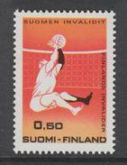 TIMBRE NEUF DE FINLANDE - JEUX DES INVALIDES FINLANDAIS N° Y&T 641 - Handisport