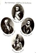 LES HOMMES CELEBRES DE LA CORSE : Sambucuccio, Sampiero Corso, P. Paoli, Napoléon 1er - Francia