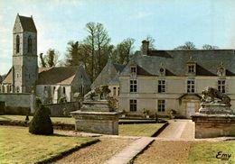 14 LE CHATEAU DE BRECY XVIIIe SIECLE - France