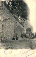 LOBBES - L'Escalier De L'Eglise - Lobbes