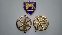 Lot 3 Insignes Béret Artillerie Militaire - Other