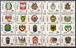Soccer World Cup 1982 - EL SALVADOR - 6 SS/4 MNH** - Coupe Du Monde