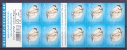 Belgie - 2014 - OBP -  **4255 - Koolwitje - 3 Herdruk Van 2012 ** - Gewijzigde Tekst Op Blaadje - Vlinders - M. Meersman - Neufs