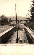 LOBBES - L'Ecluse Et Le Pont Du Chemin De Fer - Lobbes