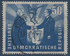 DDR  1951  Entente Germano-Polonaise Le 50 Pfg.  N° Mi 285 - Gebraucht