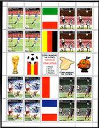Soccer World Cup 1982 - CUBA - Sheet MNH** - Coupe Du Monde