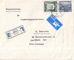 Israël - Recommandé/Registered Letter/Einschreiben - Qadima - 1842 - Israël