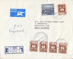Israël - Recommandé/Registered Letter/Einschreiben - Rehovot - 03252 - Israël