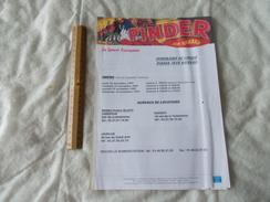 Itinéraire Du Cirque Pinder Jean Richard Et Horaires à Chartres En 1997 Avec Bons De Reduction Collectivités - Europe