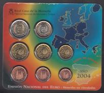 SPAIN  EURO SET 2004 BU - Espagne