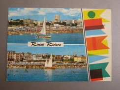 "Rimini - Zweibildkarte ""Rimini Riviera"" - Rimini"