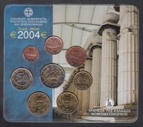 GREECE  EURO SET 2004 BU - Grèce