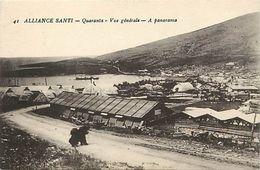 Pays Div-ref K513- Albanie - Albania - Alliance Santi - Quaranta - Vue Generale - Panorama - - Albanie