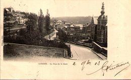 LOBBES - La Rue De La Gare - Lobbes
