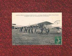 78  TOUSSUS LE NOBLE 1913 AERODROME SERGENT MOUILLERE SUR BIPLAN HENRY FARMAN - France