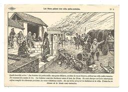 CHROMOS ISTRA - LES HUNS PILLENT UNE VILLA GALLO ROMAINE - Chromos