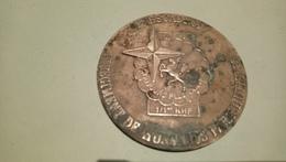 Médaille De Table 1er Escadron 1er Régiment De Hussards Parachutistes Licorne Militaire - Other