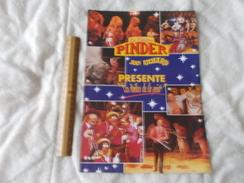 Cirque Pinder Jean Richard Programme Une Feuille Format A4 - Programmes