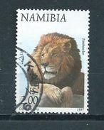 1997 Namibia Animals,dieren,tiere,lion,löwe Used/gebruikt/oblitere - Namibië (1990- ...)