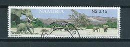 2003 Namibia Animals,dieren,tiere,elephant Used/gebruikt/oblitere - Namibië (1990- ...)