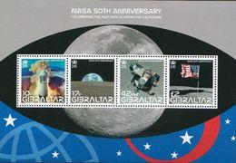 Gibraltar MNH NASA SS - Space