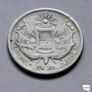 Guatemala - 1 Real - 1861 - Guatemala