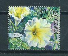 2001 New Zealand $2.00 Petunia,blümen,flowers Used/gebruikt/oblitere - Nieuw-Zeeland