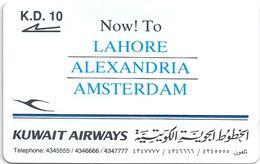 Kuwait - Kuwait Airways - 15KWAA - 1993, 10.000ex, Used - Kuwait