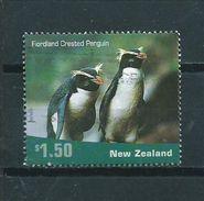 2001 New Zealand $1.50 Pinquin,animals,dieren,tiere Used/gebruikt/oblitere - Nieuw-Zeeland