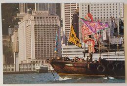 HONG KONG - THE MANDARIN HOTEL - JUNK TIN HAU FESTIVAL Nv - Cina (Hong Kong)