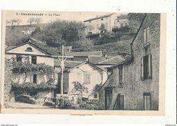 11 CAUDEBRONDE LA PLACE CPA BON ETAT - France