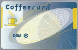 NL.- DSM. Coffeecard. Kopje Koffie. - Andere Verzamelingen