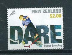 2004 New Zealand $2.00 Bungy Jumping Used/gebruikt/oblitere - Nieuw-Zeeland