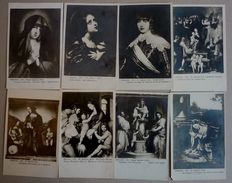 LOT 8 CPA - DIFFERENT ARTISTS, ITALIAN EDITION - FIRENZE - 5 - 99 Postcards