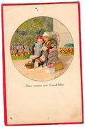 """CPA """" Nous Partons Voir Grand 'mère  Enfants N° 1440 Signé Paul EBNER ( Illus2 - Ebner, Pauli"""