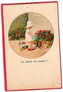 """CPA """" La Douche Des Poupées """"  N° 1440 Signé Paul EBNER ( Illus2 - Ebner, Pauli"""