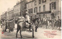 54LUN6- LUNEVILLE - Garnison - Le Colonel Du Manoir - Luneville