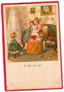 """CPA """" Il était Une Fois """"   N° 1395 Signé Paul EBNER ( Illus2 - Ebner, Pauli"""