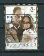 2011 New Zealand $2.40 Royal Wedding Used/gebruikt/oblitere - Gebruikt