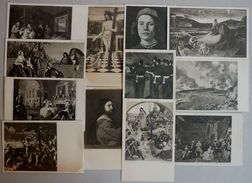 LOT 12 CPA - NATIONAL GALLERY MILLBANK, DIFFERENT PAINTERS - 5 - 99 Postcards