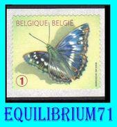 """R117** Jaune/Geel - Papillon """"Petit Mars Changeant"""" - BELGIQUE - Coil Stamps"""