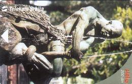 """SERBIA - Fountain """"Ribar"""" (Fisherman) , 07/04, Sample No Chip And No Control Number - Yugoslavia"""